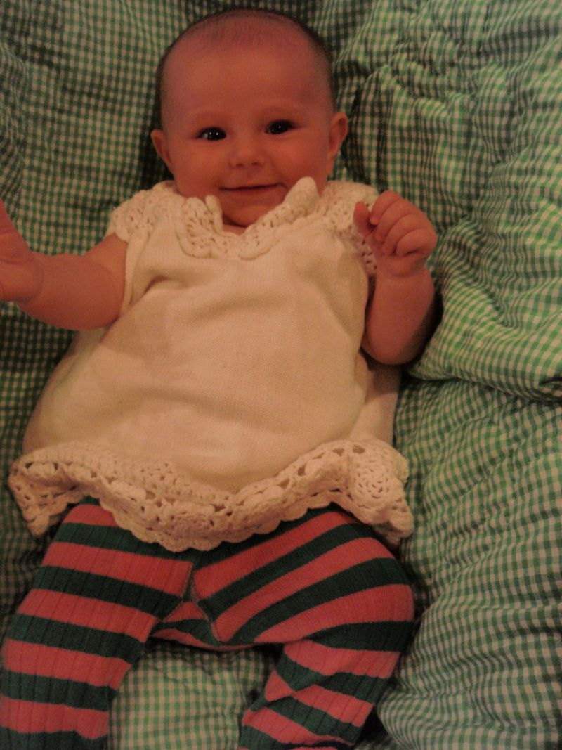 Home, edie at almost 5 mos 077